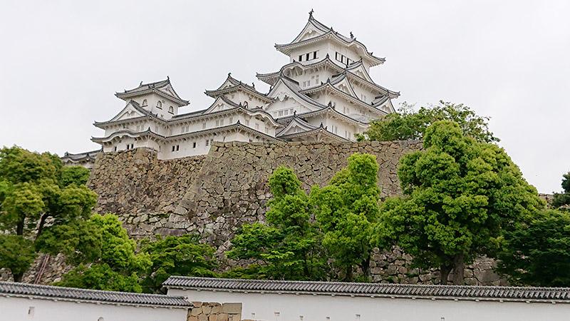 姫路城 城壁内
