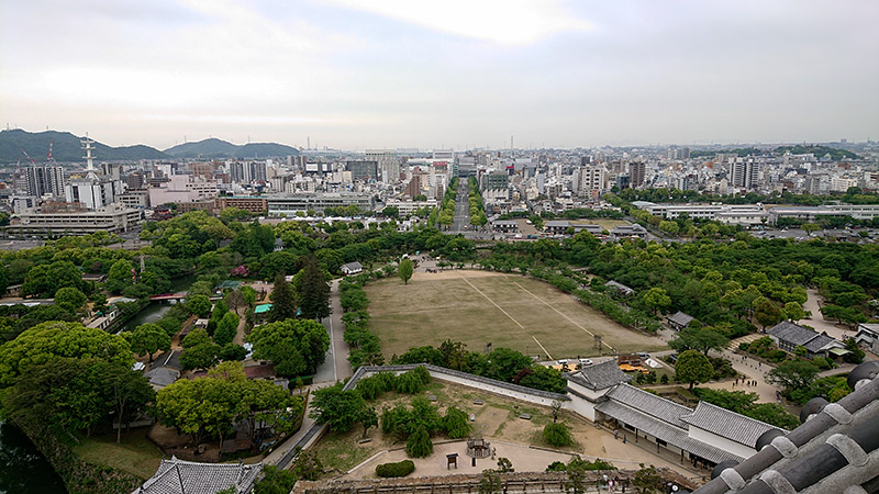 姫路城 景色