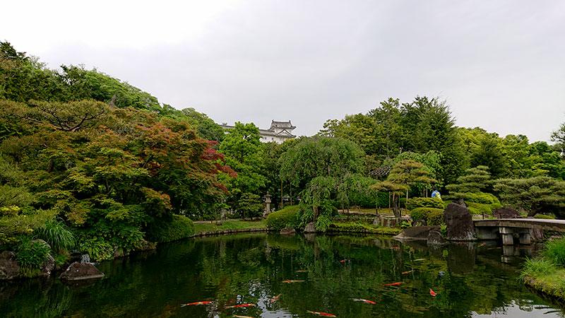 好古園 姫路城