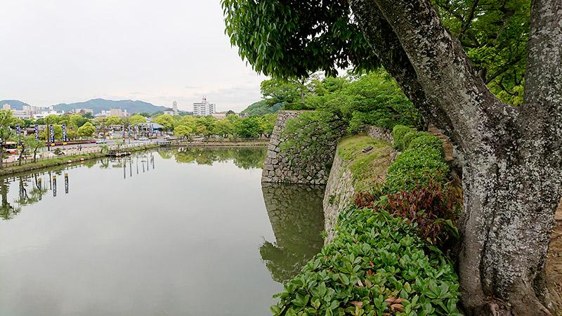 姫路城 堀